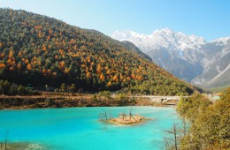Blue Waters of Lanyue Valley