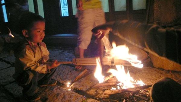Huoba (Fire Torch) Festival