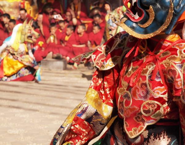 Tibetan Mask Dance (January)