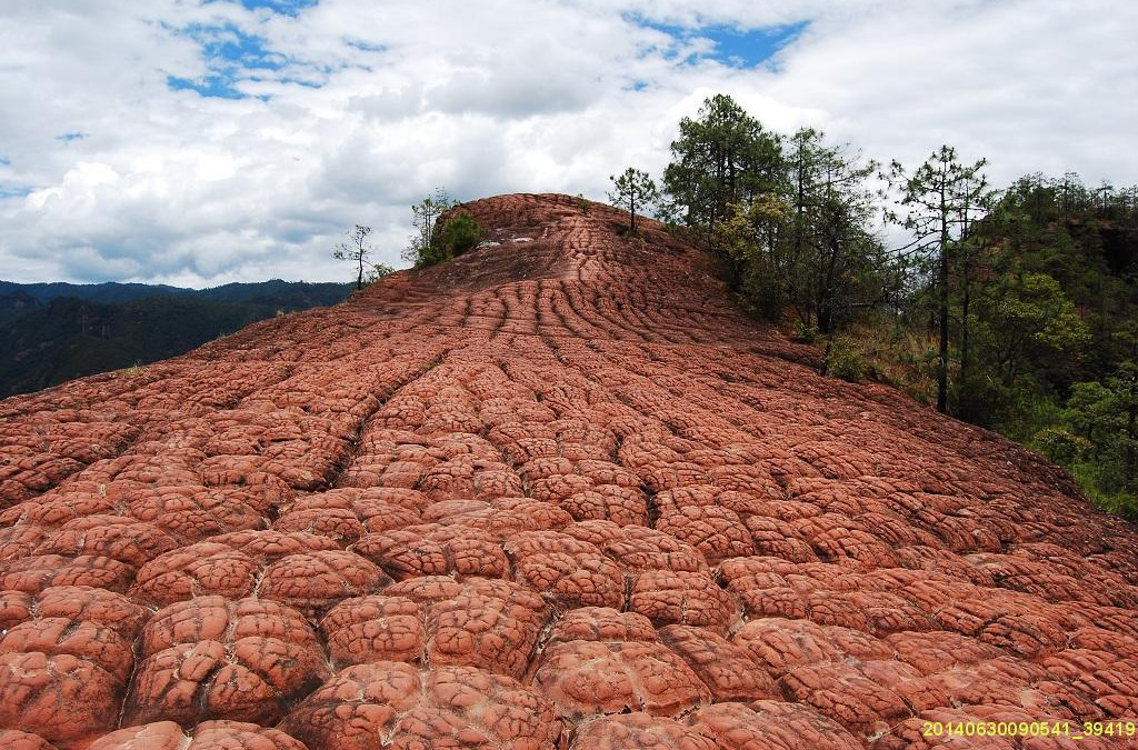 1-Day Trip to Liming Red Sandstone (Danxia) Landforms